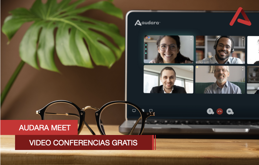Audara Meet, acceso gratuito a vídeo conferencias